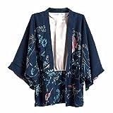 (ライチ) Lychee レディース ゴージャスプリント入り アウター 鳳凰と花プリント カーディガン 上着 羽織る 薄手 ボレロ ビーチ 海 大きいサイズ 冷房対策