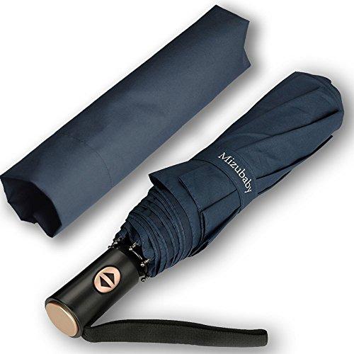 折り畳み傘 自動開閉ワンタッチ 傘 折りたたみ傘 高強度 グラスファイバー 傘骨 耐強風 軽量 210高密度PG布 Teflon撥水加工 超撥水 紫外線カット 晴雨兼用 直径116CM 大きい 収納ケース付き 品質保証