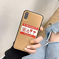 iPhoneXS MAX ケース レディース 女性用 携帯ケース クラフト紙 iPhone7/8/7Plus/8Plus,iPhone X/XR,iPhoneXS/XS MAX (iPhone8 Plus ケース)