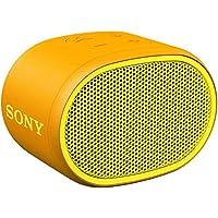 ソニー SONY ワイヤレスポータブルスピーカー SRS-XB01 Y : 防水 Bluetooth スマホなしで操作可能 ストラップ付属 2018年モデル イエロー