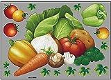 ウィンドウシール 野菜 No.69822 (受注生産)