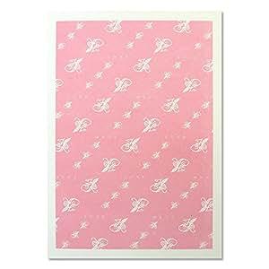 HANABUSA(はなぶさ) B6 ラインノート ピンク