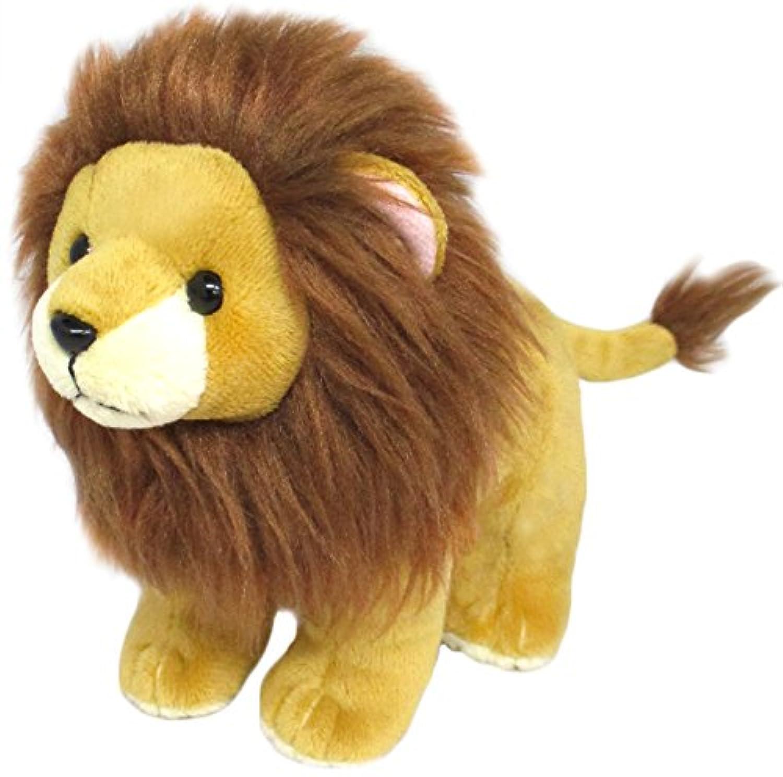 ぷるるんアニマル ライオン ぬいぐるみ  全長15cm