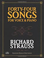 Forty-Four Songs for Voice and Piano (Dover Song Collections)
