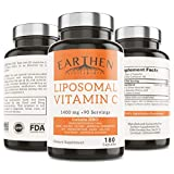 Liposomal Vitamin C 1400MG Per Serving 180 Capsule 90 Serving | China Free Non GMO Fat Soluble High Absorption Antioxidant Immune System Support