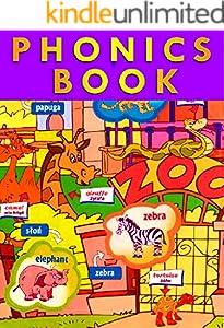 PHONICS BOOK:  for Preschool, Kindergarten and 1st Grade (English Edition)