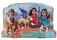 Elena of Avalor小柄Storytellingセット – Elena、Mateo、Isabel、Skylar and zuzo