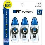 トンボ鉛筆 テープのり ピットパワーC HPA-325 3個