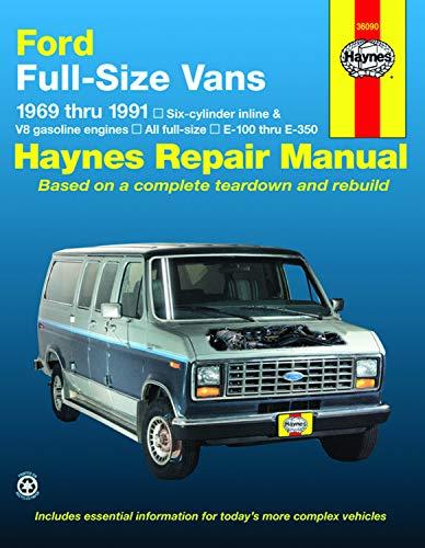 Download Ford Van, 1969-1991: Six-cylinder inline and V8 gasoline engines (Haynes Repair Manual) 1563920298