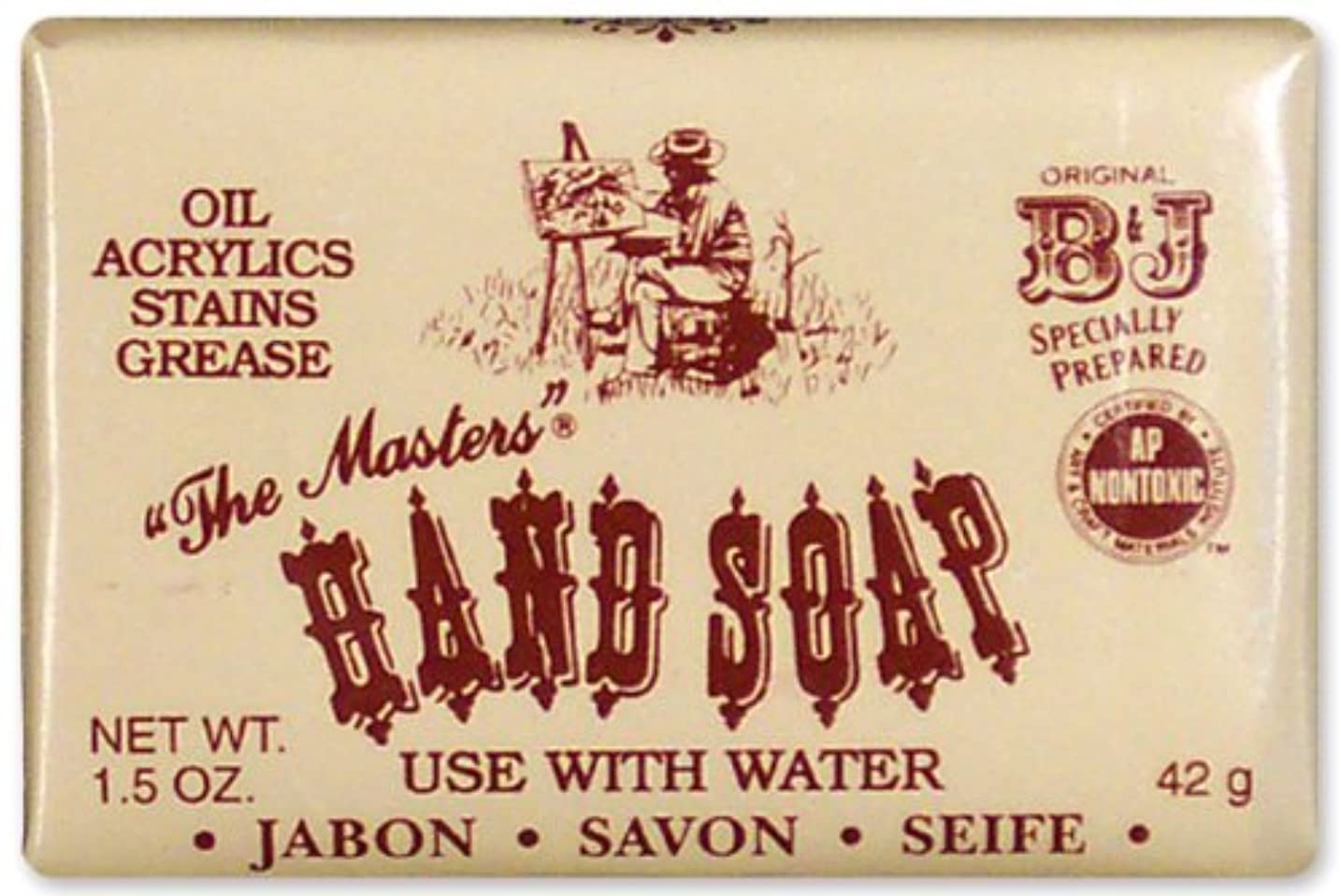 偽造大西洋心臓The Master's Hand Soap-1.4oz (並行輸入品)