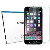 【2枚セット】Anker GlassGuard iPhone 6 / 6s 4.7インチ用強化ガラス液晶保護フィルム