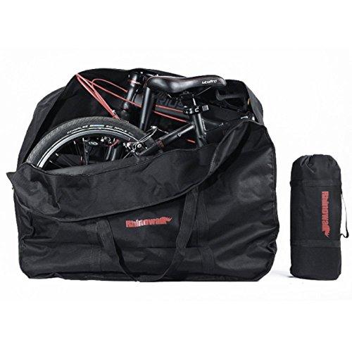 折りたたみ自転車 収納バッグ 16〜20インチ対応 専用ケース付き 輪行バッグ