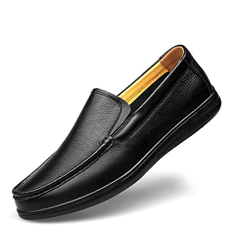 キャンペーン紀元前ふざけた[イノヤ]革靴 ドライビングシューズ スリッポン ビジネスシューズ カジュアルシューズ メンズ カジュアル靴 メンズ 紳士靴 ローファー モカシン 本革 父の日 ブラック キャメル