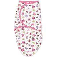 SwaddleMe Original Swaddle 1-PK, Flutter Flower (LG) by SwaddleMe [並行輸入品]