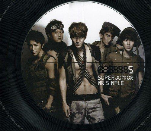 SUPER JUNIOR / Mr. Simple(B TYPE), 5th Album [韓国盤]の詳細を見る