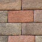 インテリア壁、エクステリアに貼るだけ煉瓦『かるかるブリック(30枚セット)』 (ダークブラウン)