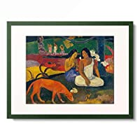 ポール・ゴーギャン Eugene Henri Paul Gauguin 「Arearea (Joyeusetes)-(Joys), 1892」 額装アート作品