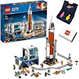 【プライムデー記念発売】LEGO シティ 超巨大宇宙ロケットと指令本部とケニー&レニー宇宙ミニフィギュア スペシャルセット