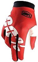 100% iTrackグローブレッド赤サイズ: XL byアンノウン