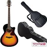 S.Yairi ヤイリ アコースティックギター エレアコ YE-4M/3TS サクラ楽器オリジナル ハードケースセット