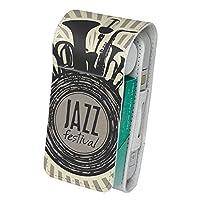 スマコレ IQOS専用 レザーケース 【従来型/新型 2.4PLUS 両対応】 専用 ケース カバー 合皮 カバー 収納 音楽 ジャズ 楽器 011667