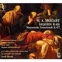 Mozart: Requiem K626 (Le Concert des Nations / Jordi Savall) by La Capella Reial de Catalunya (2011-03-08)