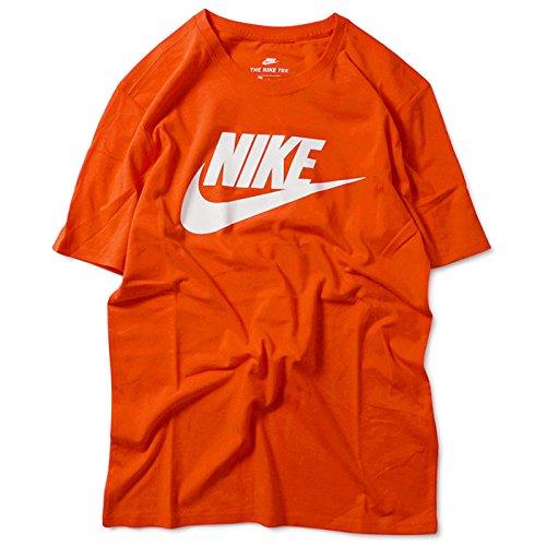 Nike ナイキ FUTURA ICON T-SHIRT フューチュラ アイコン 半袖 Tシャツ 696708-852 ORANGE マックスオレンジ マックスオレンジ M