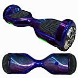 6.5インチセルフバランススクータースキン、ステッカーfor Hover電動スケートボード、bolayu輪スマート保護カバーケースステッカー