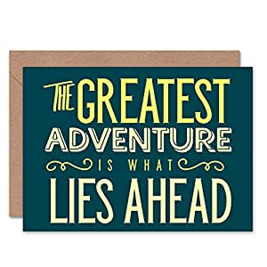 CARD GREETING QUOTE MOTIVATION TOLKEIN GREATEST ADVENTURE 見積もり動機すばらしいです広告ベンチャー