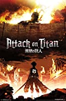 "Poster - Attack on Titan - Fire New Wall Art 22""x34"" rp13799"