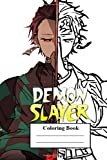Demon Slayer Coloring Book: kimetsu yaiba Anime Soft Glossy Cover New Coloring Pages, Coloring Book