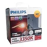 PHILIPS(フィリップス)  ヘッドライト ハロゲン バルブ H7 3350K  12V 55W エクストリームヴィジョン X-tremeVision 輸入車対応 2個入り XV-H7-1