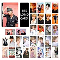 Saitrewed-BTS 防弾少年団 MAP OF THE SOUL PERSONA LOMOカード 30枚 BTS 写真 ニューアルバム BOY WITH LUV 応援グッズ はがき フォトカードセット 人気 ギフト for a.r.m.y(金硕珍)