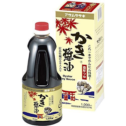 アサムラサキ かき醤油1000ml 化粧箱入り KK-02
