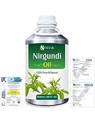 Nirgundi (Vitex negundo) 100% Natural Pure Essential Oil 5000ml/169fl.oz.