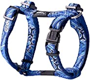 Rogz Fancy H Dog Harness, Navy Zen Medium