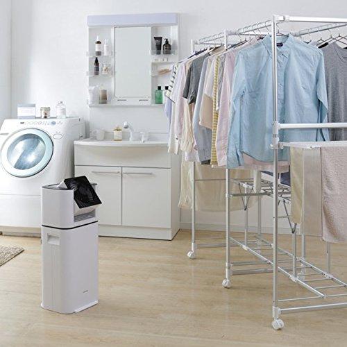 サーキュレーター衣類乾燥除湿機(木造6畳 コンクリート造13畳まで)IRIS OHYAMA デシカント方式 DDC-50
