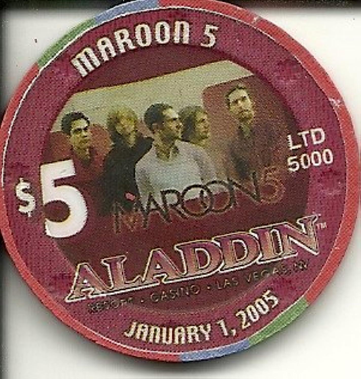 $ 5アラジンComing Soon Planet Hollywood Las Vegasカジノチップ