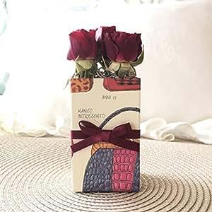 LOVEBOX ハンドバック 赤ミニ薔薇