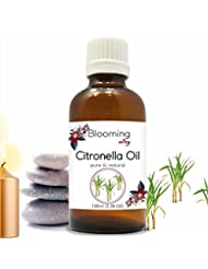 Citronella Oil (Cymbopogon Nardus) Essential Oil 100 ml or 3.38 Fl Oz by Blooming Alley
