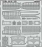 エデュアルド 1/72 Yak-1b エッチングパーツ (アルマホビー用) プラモデル用パーツ EDU73699