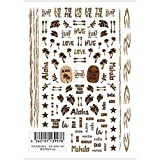 TSUMEKIRA ネイルシール 焼き印&Wood