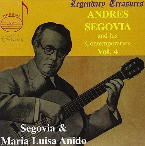 Andres Segovia and His Contemporaries, Vol. 4 by Andres Segovia, Maria Luisa Anido (1998-11-17) 【並行輸入品】 Maria Luisa Anido Andres Segovia DHR