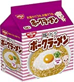 日清 ポークラーメン 5食パック 460g ×6袋