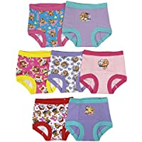 Nickelodeon Girls GTP3736 Paw Patrol Girls 7 Pack Training Pants Training Underwear - Multi
