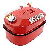 メルテック ガソリン携行缶 20L 消防法適合品 KHK [亜鉛メッキ鋼鈑] 鋼鈑厚み:0.8? 積重ねタイプ Meltec FZ-20