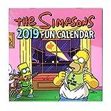 シンプソンズ 2019年 ミニ カレンダー 壁掛け The SIMPSONS バート ホーマー グッズ かわいい 可愛い 女の子 キャラクター お洒落 インテリア