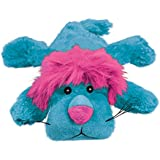 KONG - Cozie King Lion - Indoor Cuddle Squeaky Plush Dog Toy - Small