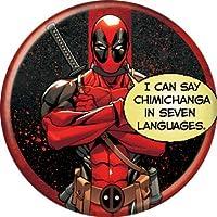 Marvel(マーベル) Deadpool(デッドプール) Chimichanga 缶バッジ [並行輸入品]