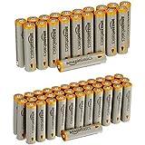 Amazonベーシック アルカリ乾電池 単4形56個パック